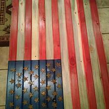 American flag - Woodworking Project by JMac