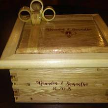 wedding box gift - Woodworking Project by Bill T
