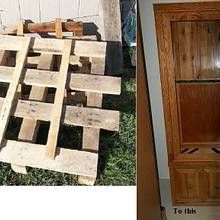 From trash to art -- - Woodworking Project by Robert1