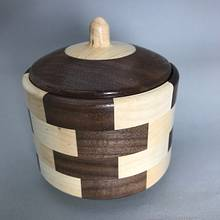 Segmented Walnut and Maple Box - Woodworking Project by Roger Gaborski
