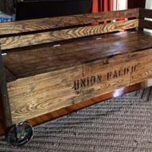 Railroad cart bench - Woodworking Project by Indistressed