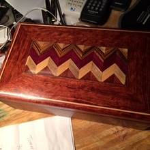Wife's box - Woodworking Project by Gary