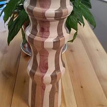 Segmented Lamp - Woodworking Project by David Roberts