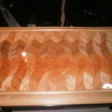 Dunes: bar top - Woodworking Project by SASmith