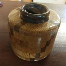 donation Canister - Woodworking Project by Wheaties  -  Bruce A Wheatcroft   ( BAW Woodworking)