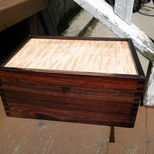 First Box of 2014 - Woodworking Project by EmCee58