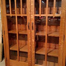Mission style Bookcase - Woodworking Project by kenmitzjr