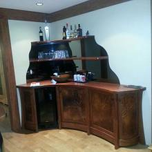 Residential bar - Woodworking Project by WestCoast Arts