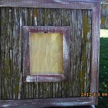 picture frame - Woodworking Project by barnwoodcreations