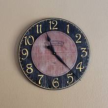 Wall clock - Woodworking Project by Wes Louwagie