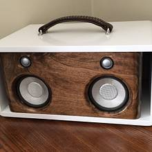 Portable Bluetooth stereo - Woodworking Project by Oblivion