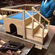 Dog bed with potty chamber - Woodworking Project by David A Sylvester