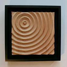 Water Ripple CNC Carving - Woodworking Project by Roger Gaborski