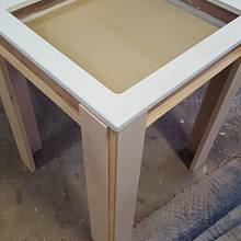 Beach room table - Woodworking Project by Galvipa