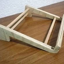 Laptop Stand/Support - Woodworking Project by Legorreto