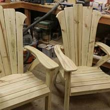 Adirondack Chairs - Woodworking Project by travk72