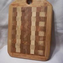 End Grain Cutting Board - Woodworking Project by ewaite