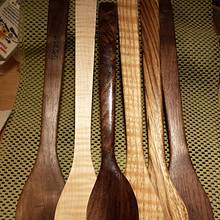 Hardwood spatulas - Woodworking Project by Mark Michaels