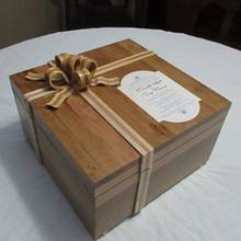 woodbow wedding box - Woodworking Project by Bill T