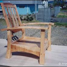Chair - Woodworking Project by WestCoast Arts