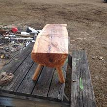 1st ever log project - Woodworking Project by rentaman