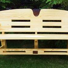 GARDEN BENCH FOR MRS. KIEFER - Woodworking Project by kiefer