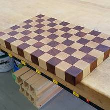 Butcherblock Cutting Board  - Woodworking Project by Steve66