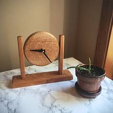 Jupiter Rising Clock - Woodworking Project by Nick Endle