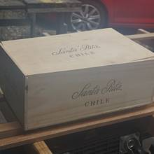 Use of wine box = Free wood. - Woodworking Project by Madts