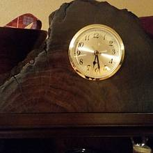 Desk top clock - Woodworking Project by Sean