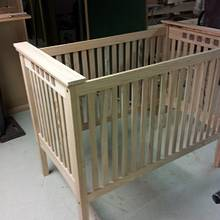 grandson baby bed - Woodworking Project by theoledrunk