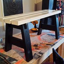 My daughter's new bench - Woodworking Project by BigTexTactical