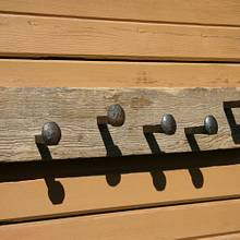 Coat Rack - Woodworking Project by Railway Junk Creations