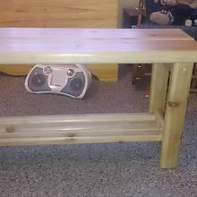 Cedar Bench - Woodworking Project by Chris Tasa