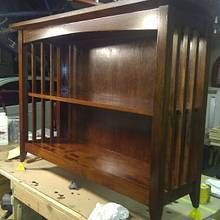 Mahogany bookcase - Woodworking Project by Bill