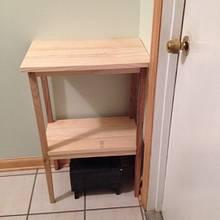 Corner shelf - Woodworking Project by Bill sheehan