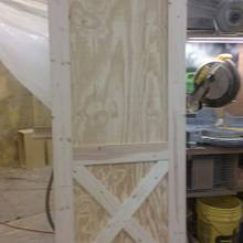 Barn style Door - Woodworking Project by Right Angle Woodworks