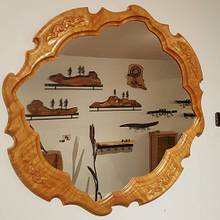 Carved mirror - Woodworking Project by WestCoast Arts