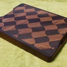 END GRAIN WAVED BOARD - Woodworking Project by Sam Shakouri