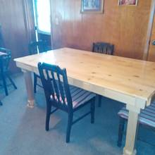 table to match china hutch - Woodworking Project by jim webster