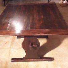 TRESTLE TABLE - Woodworking Project by Michael De Petro