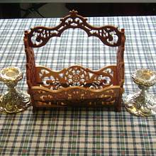 Fretwork Basket - Woodworking Project by David Roberts