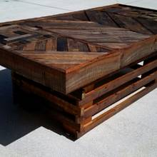 Pallet Wood Coffee Table - Woodworking Project by Ben Buxton