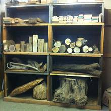 From old air handler to wood stash  - Woodworking Project by Jay
