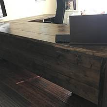 Custom Office Desk - Woodworking Project by B Gabourie