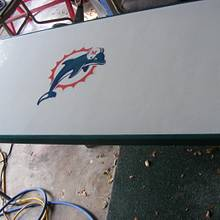 Dolphin Beer Pong Table - Woodworking Project by Joe