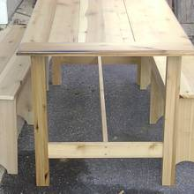 Poplar Farm Table - Woodworking Project by David Roberts