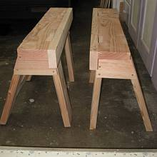 Saw benches - Woodworking Project by Richforever