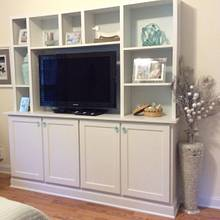 Bedroom Wall Unit - Woodworking Project by Dorald