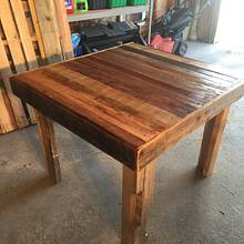 First attempt with Pallets - Woodworking Project by MaggiesDad